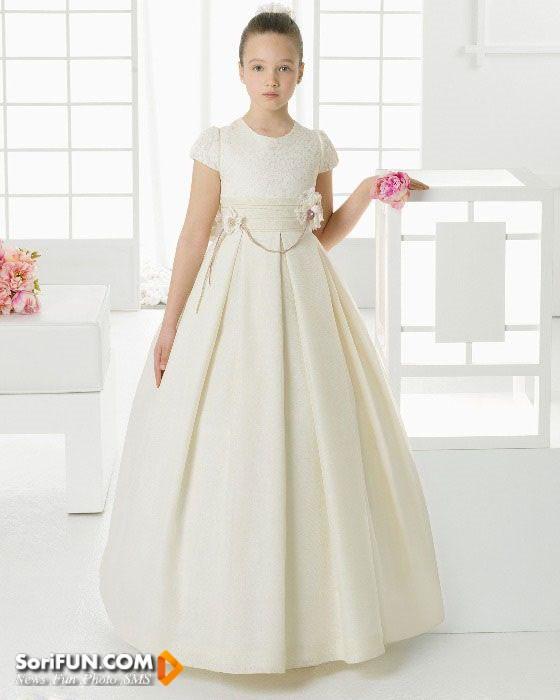 لباس عروس بچه گانه 2016