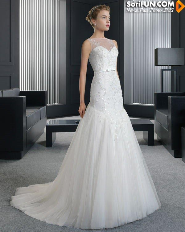 مدل لباس عروس کره ای