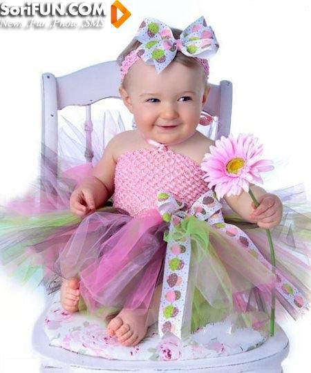 مدل لباس عروس کودک