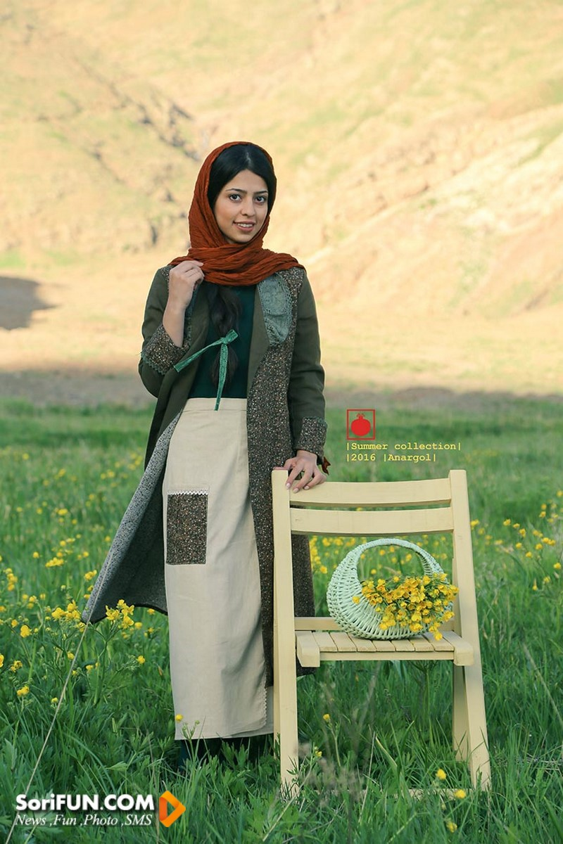 مدل زیبای دامن ایرانی