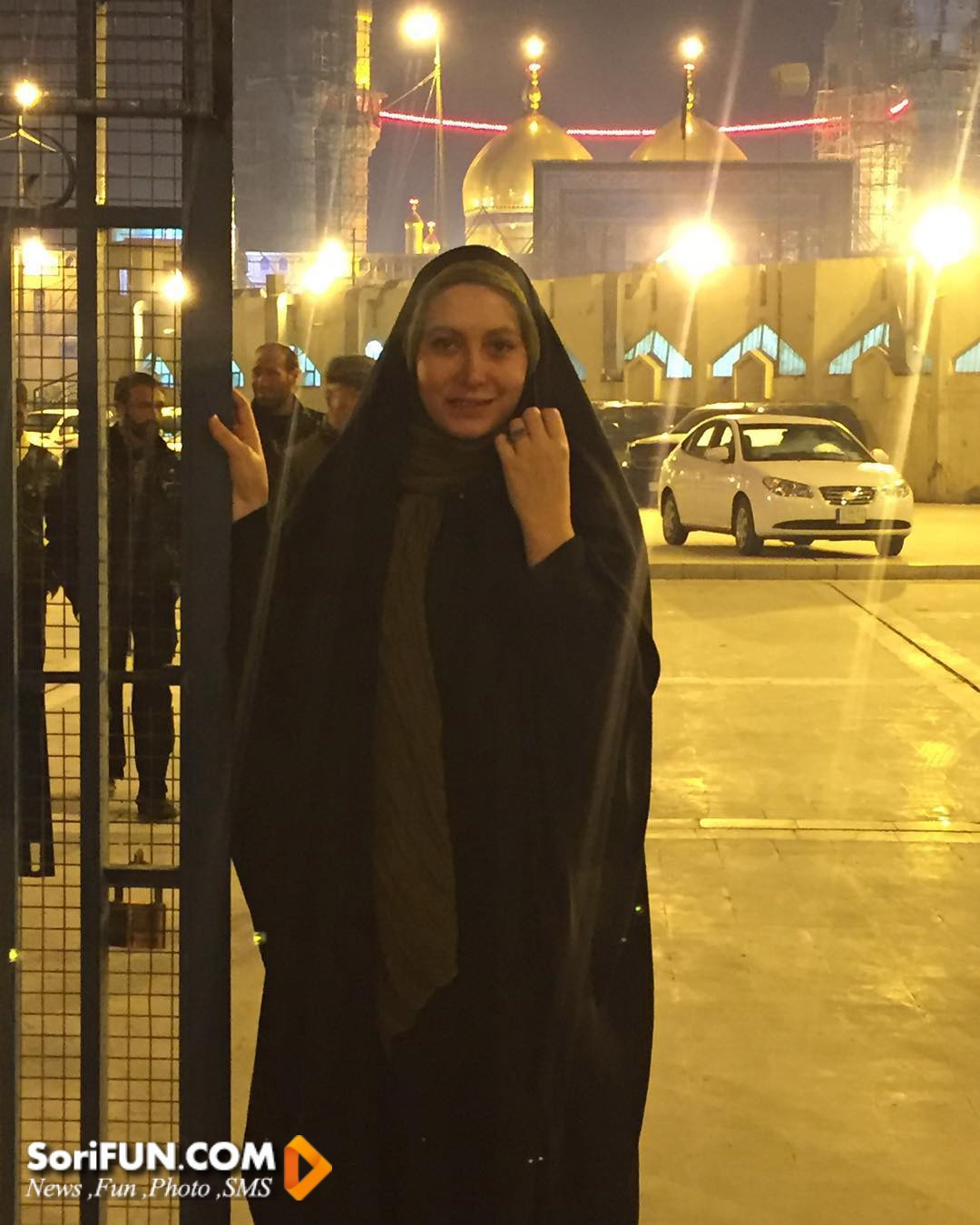 فریبا نادری در شهر کاظمین