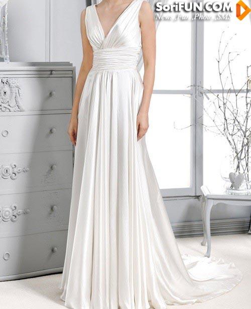 مدل لباس عروس شیک وزیبا