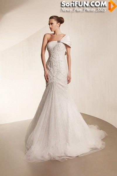 مدل لباس عروس زنانه