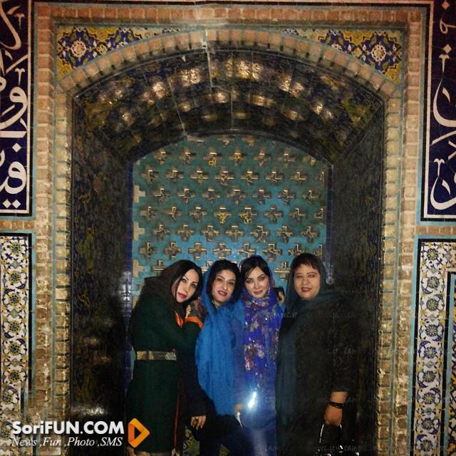 عکس فقیهه سلطانی 2015