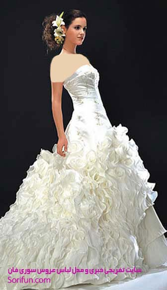 شیک ترین لباس های عروس