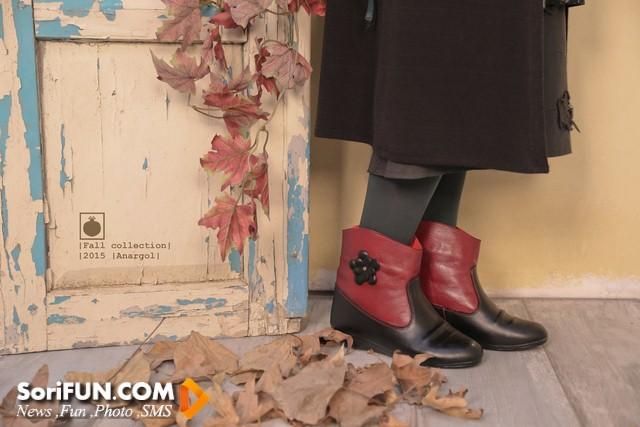 آخرین مدل های کفش ایرانی با برند انارگل