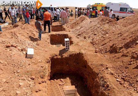 جنازه کودک سه ساله سوریه
