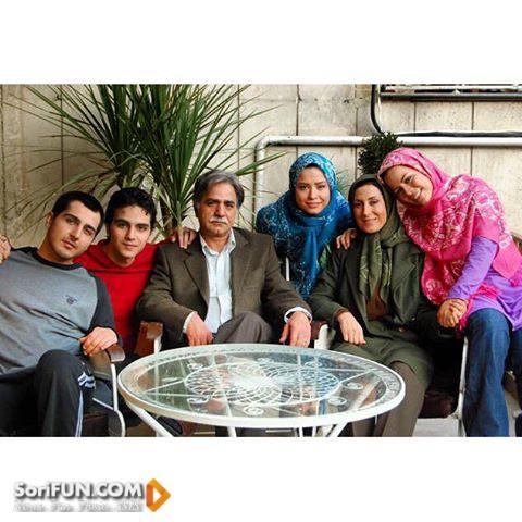 مهراوه شریفی نیا در کنار مرحوم سید علی طباطبایی