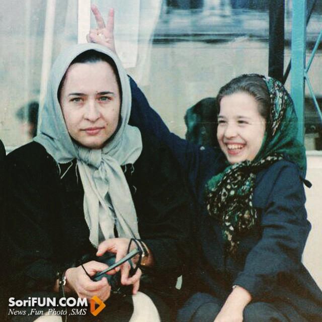 عکس کودکی مهراوه شریفی نیا