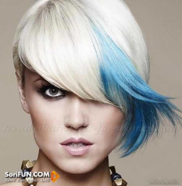 مدل مو رنگی زنانه