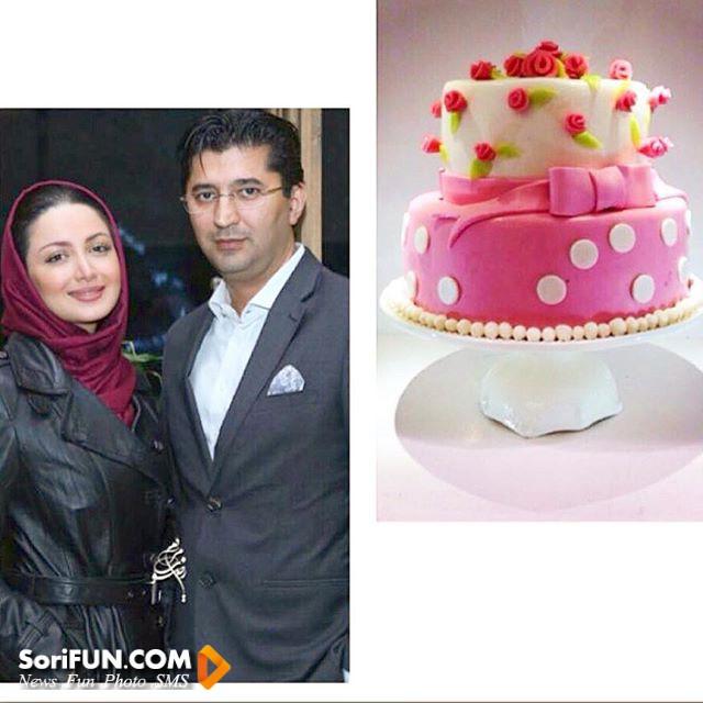 شیلا خداداد آذر94 و همسرش