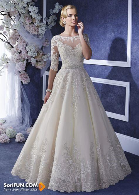 مدل لباس عروس مرداد 2016
