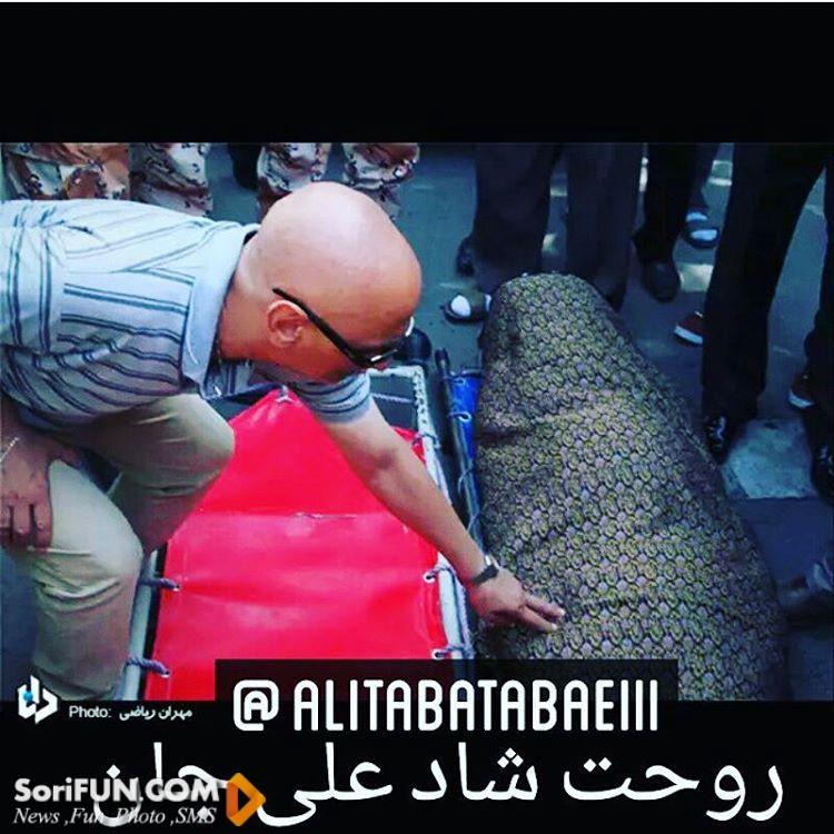 تشییع جنازه علی طباطبایی